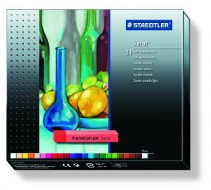 پاستل گچی استدلر  - 24 رنگ - جعبه مقوایی Staedtler karat 24 color Soft pastel chalk