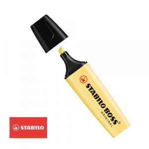 ماژیک هایلایتر پاستلی استابیلو زرد 01 مدل Boss Original