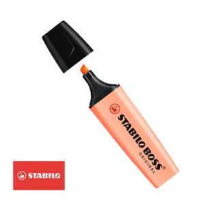 ماژیک هایلایتر پاستلی استابیلو نارنجی 03 مدل Boss Original