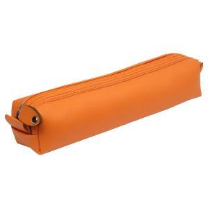 جامدادی چرمی پاستلی (نارنجی) jcp01