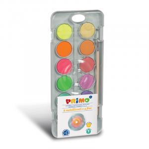 آبرنگ جعبه پلاستیکی 12رنگ پریمو 115A12FM