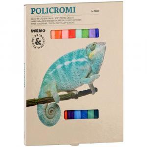 پاستل گچی پریمو، جعبه مقوایی، 24 رنگ 021GC24I