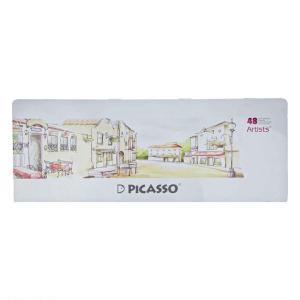 مداد رنگی ۴۸ رنگ جعبه فلزی (Picasso Artist)