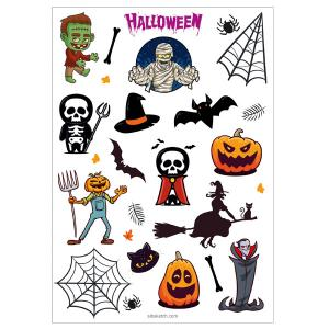 برچسب سیب sbo39 طرح هالووین