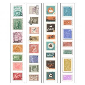 برچسب تمبر جمع و جور مدل jmjs01