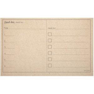 کاغذ یادداشت پلنرساز جمع و جور طرح Good Day