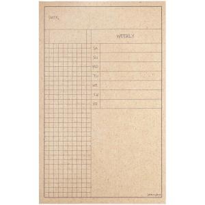 کاغذ یادداشت پلنرساز جمع و جور طرح Checklist