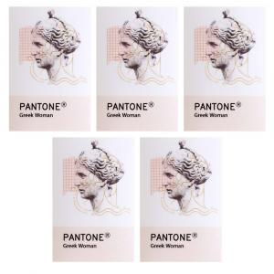 برچسب شفاف جمع و جور طرح Pantone