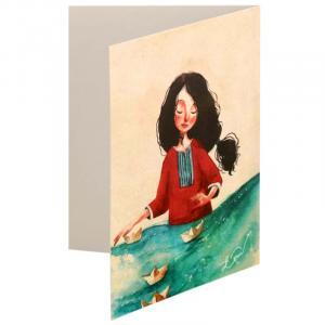 کارت پستال سحر طرح Dream Sailor