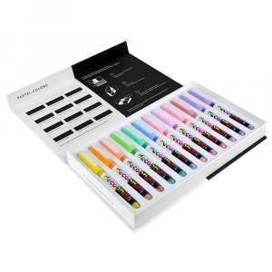 پیگمنت دکو براش کارین مجموعهی ۱۲ رنگ پاستلی