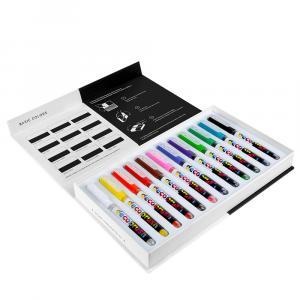 پیگمنت دکو براش کارین مجموعهی ۱۲ رنگ اصلی