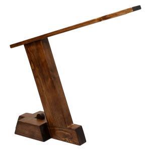 چراغ مطالعه چوبی مدل مدرن