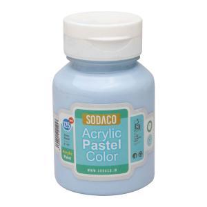رنگ اکریلیک پاستلی سوداکو آبی پودر کد 02767