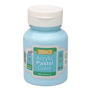 رنگ اکریلیک پاستلی سوداکو آبی روشن کد 02766