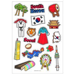 برچسب سیب scs20 کره جنوبی