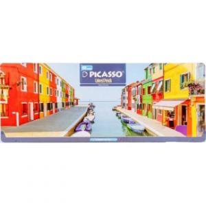 مداد رنگی ۴۸ رنگ جعبه فلزی (Picasso)