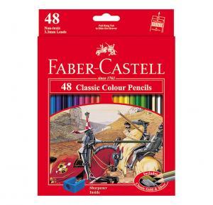 مداد رنگی فابر کاستل کلاسیک - جعبه مقوایی 48 رنگ