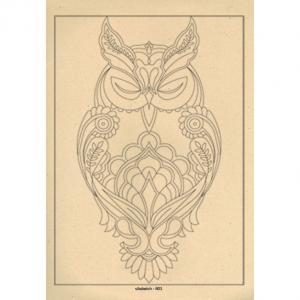 برگه رنگ آمیزی پالت ( مجموعه ی رویا ) R01
