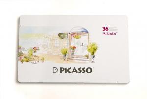مداد رنگی ۳۶ رنگ جعبه فلزی (Picasso Artist)