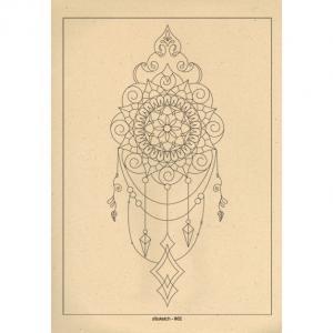 برگه رنگ آمیزی پالت ( مجموعه ی رویا ) R02