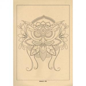 برگه رنگ آمیزی پالت ( مجموعه ی رویا ) R05