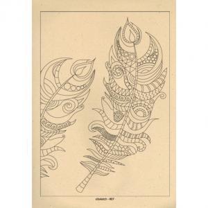 برگه رنگ آمیزی پالت ( مجموعه ی رویا ) R07