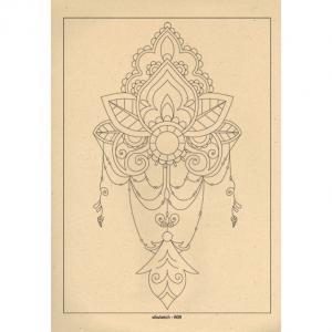 برگه رنگ آمیزی پالت ( مجموعه ی رویا ) R09