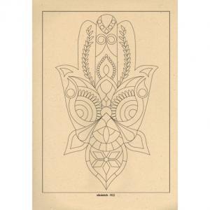 برگه رنگ آمیزی پالت ( مجموعه ی رویا ) R011