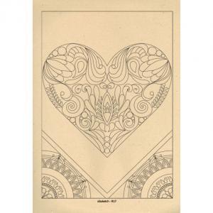برگه رنگ آمیزی پالت ( مجموعه ی رویا ) R17