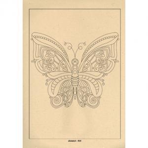 برگه رنگ آمیزی پالت ( مجموعه ی رویا ) R19