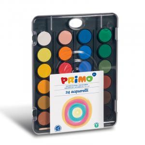 آبرنگ جعبه پلاستیکی 24رنگ پریمو