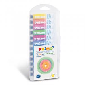 گوآش پریمو، تیوب آلومینیومی 12میل، 4 رنگ فلورسنت و 8 رنگ متالیک