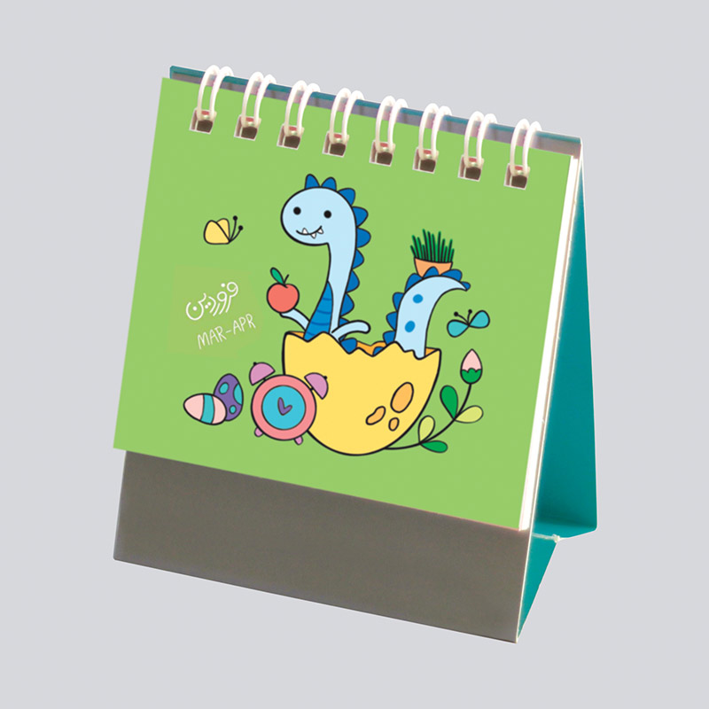 تقویم رومیزی فانتزی و کوچک سال 99