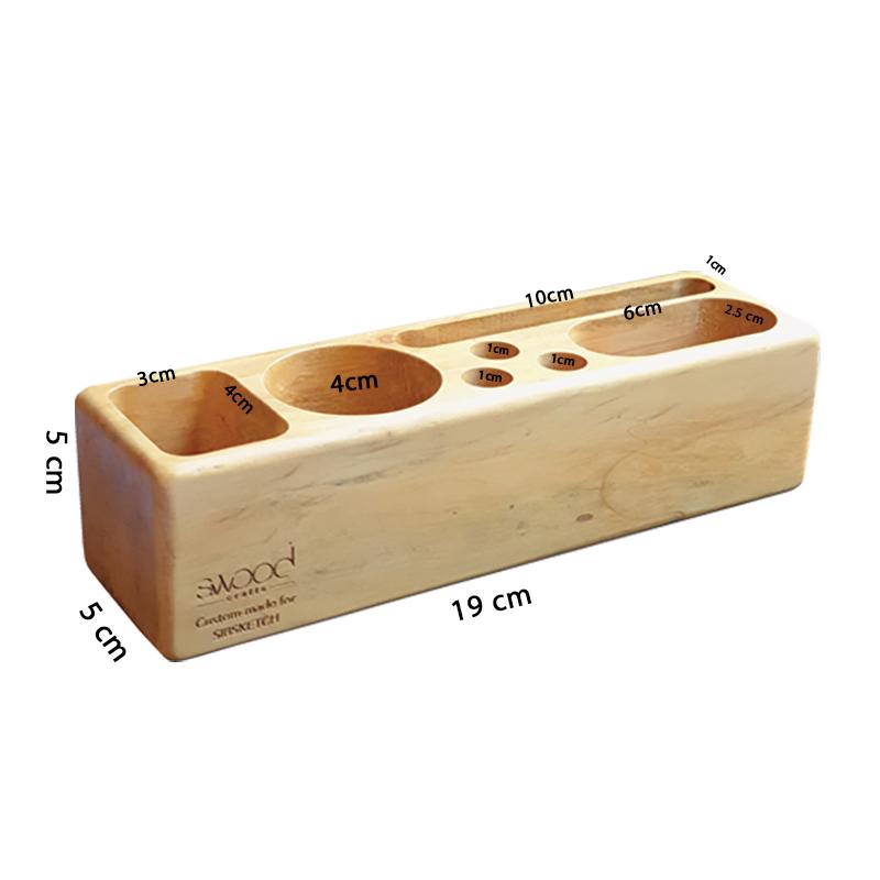جامدادی چوبی رومیزی مدل افرا