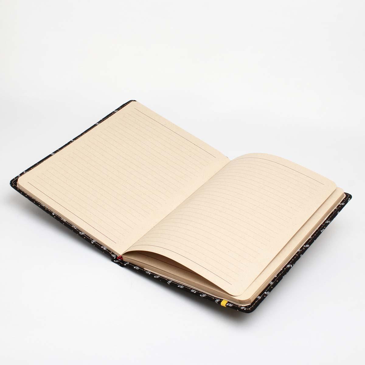 دفتر پارچه ای خط دار P1765