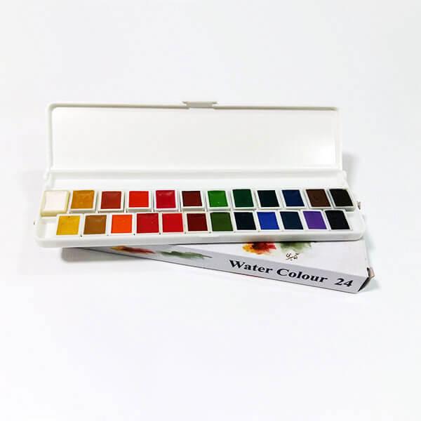 آبرنگ آقا میری 24 رنگ